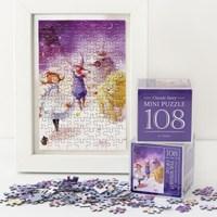 인디고 미니 퍼즐 108피스-오즈 퍼플