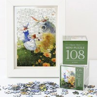 인디고 미니 퍼즐 108피스-오즈 그린