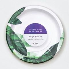 트로피칼바나나 종이접시 L (10p)
