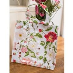 [울스터위버스] 트레디셔널 로즈 PVC 가방(S)