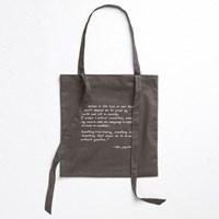 [Ro-Co Bag] 로맨틱 리본 에코백(Charcoal) RMAK724GM2