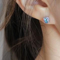 미스틱 토파즈 오로라 귀걸이 #1 mistic topaz aurora earring
