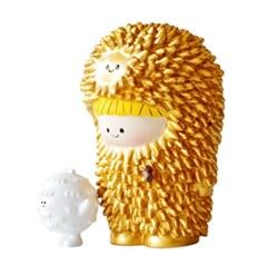 Golden Treeson Momiji & Infant Treeson by Bubi Au Yeung