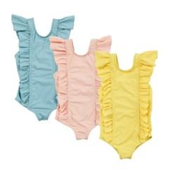 프릴 유아 아동 여아수영복 (3color)