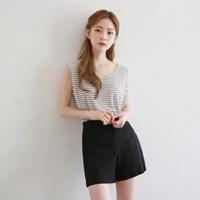 Linen color shorts