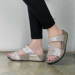 kami et muse Mini cubic strap tall up slippers_KM17s252