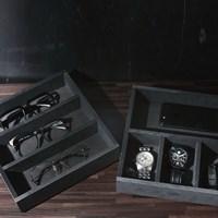 디자인하라 블랙 수납정리함 모음전-보석함 보관 시계