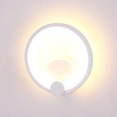 boaz 원(검,백) 벽등 LED 카페 거실 방 인테리어조명