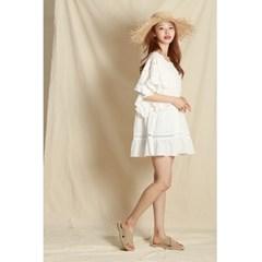 Mexico Lace Ruffle Dress
