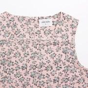 [리틀비티] 타이니 플라워 슬리브리스 드레스 (핑크)_(578448)