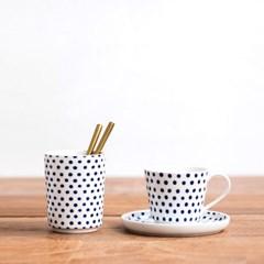 에스닉 블루 컵
