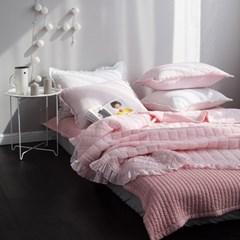 루인 시어서커 여름침구-핑크(S).