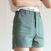 POCKET SHORTS-GREEN