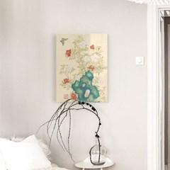 꽃나비있는 아름다운풍경 아크릴액자by하얀달(334942)