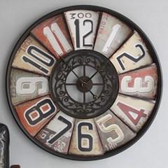 빈티지 원형 벽시계 (706) -대