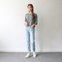 Wearable slip denim