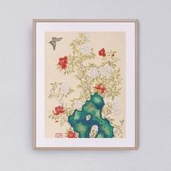 꽃과 나비가 있는 아름다운 풍경 갤러리액자 by하얀달(334863)