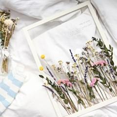 보타니컬 투명액자 - 프리저브드 들꽃