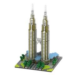 YZ057 나노블럭 유명건축물 페트로나스 트윈타워