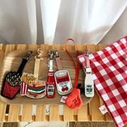 하인즈마요네즈&케찹 참장식(핑크,실버스트랩 선택)
