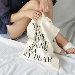 typo cotton eco bag