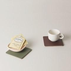 FLAT coaster (컵받침) _ pearl