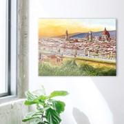 500조각 직소퍼즐▶ 노을 지는 피렌체 (3H05-506)