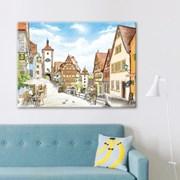 500조각 직소퍼즐▶ 로텐부르크의 인형 마을 (3H05-508)