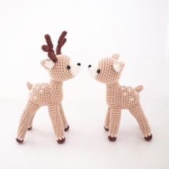 (DIY 키트) 손뜨개 사슴 인형 - ZoO 시리즈