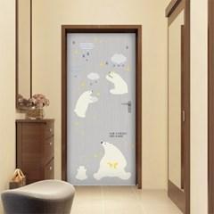 아트도어-북극곰