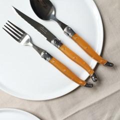 라귀올 테이블 양식기 오렌지