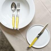 라귀올 테이블 양식기 옐로우