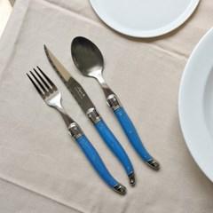 라귀올 테이블 양식기 블루