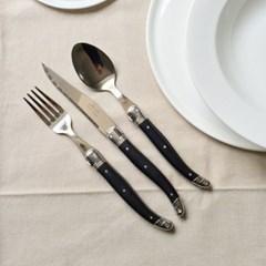 라귀올 테이블 양식기 블랙