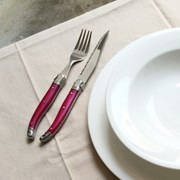 라귀올 테이블 양식기 로즈