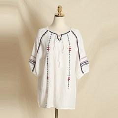 Zuki Embroidered Blouse