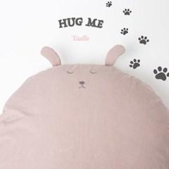 허그미쿠션 - 핑크강아지