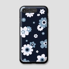 iPhone7 - BLUE BLOOM LIGHTING CASE