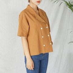 plain double button shirts