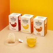 하이어리빙[HIGHER LIVING] 유기농 레몬&진저 TEA