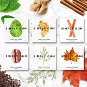 SIMPLY GUM 심플리껌 CINNAMON (시나몬)