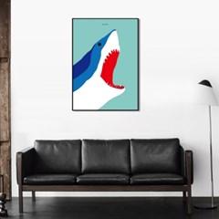 유니크 인테리어 디자인 포스터 M 죠스