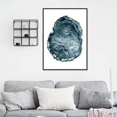 패브릭포스터 흑백사진 인테리어 액자 그루터기