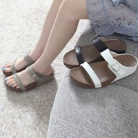 kami et muse Belt strap top tall up slippers_KM17s284