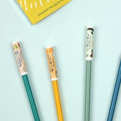 세계문학 연필캡 세트