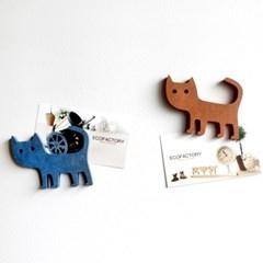 동물친구들 - 고양이 마그넷