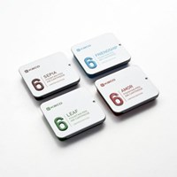 카코 KACO 8가지 색상 6개입 만년필 잉크 카트리지