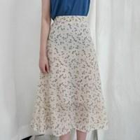 Perfume chiffon skirt