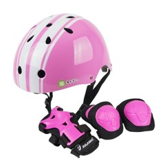 줄라이카 유아 아동 헬멧 보호대 세트 레이싱