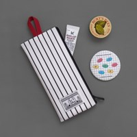 COATED COTTON POUCH (LONG)